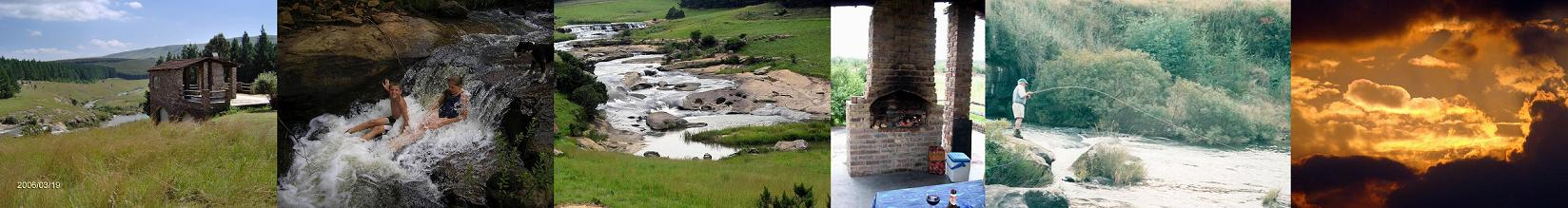 Bivane River Lodge, Utrecht, KwaZulu-Natal Collage